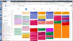 Agenda google calendar , gestionando mi tiempo