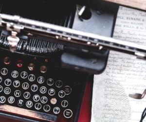 El talento de un escritor será la huella que deja cuando escribe